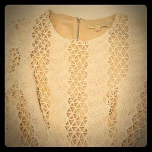 Dance & Marvel Crochet lined dress